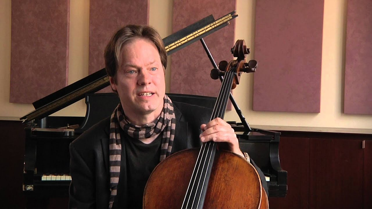 Jan Vogler on his childhood and cello