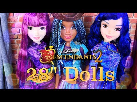 Unbox Daily: Disney Descendants 2 | 28 Inch ISLE DOLLS | New Toys Review