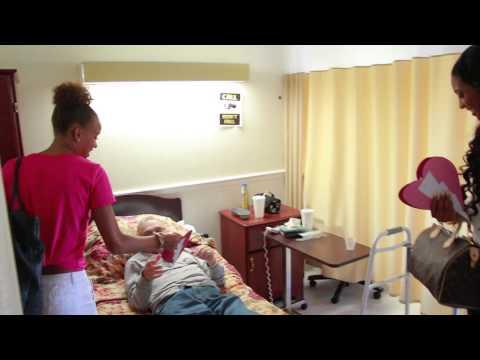 Valentine Day Nursing Home Visit Miami FL 2014