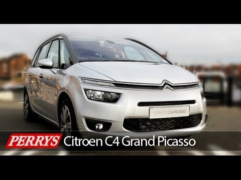 new 2014 citroen grand c4 picasso exclusive review and test drive youtube. Black Bedroom Furniture Sets. Home Design Ideas