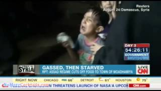 Assad cuts off food to Syrian town after gassing the citizens