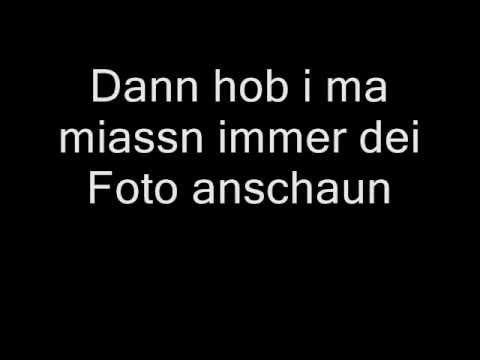 Wolfgang Ambros  Dei Foto Lyrics