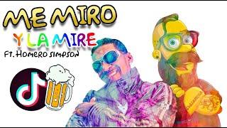 OMEGA FT. HOMERO SIMPSON - PEGAO / Me Miro Y La Mire (#1 TikTok )
