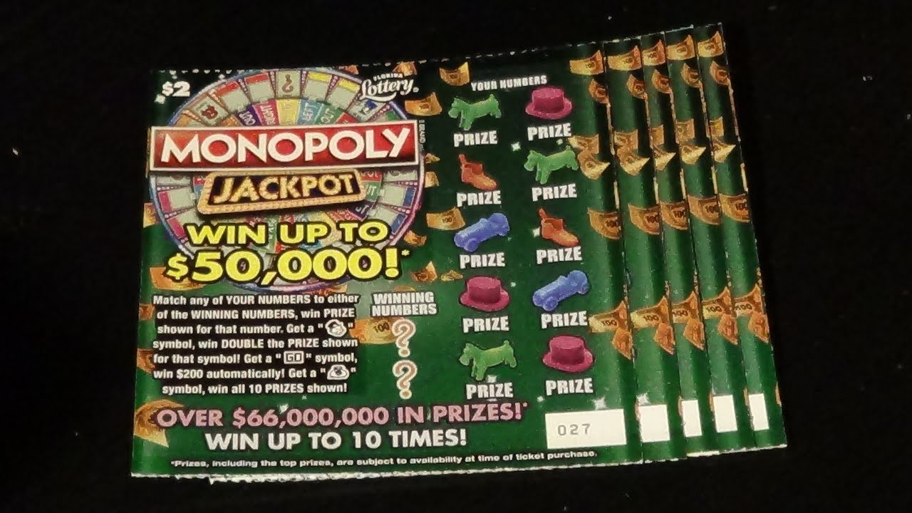 Texas lottery monopoly second chance prizes