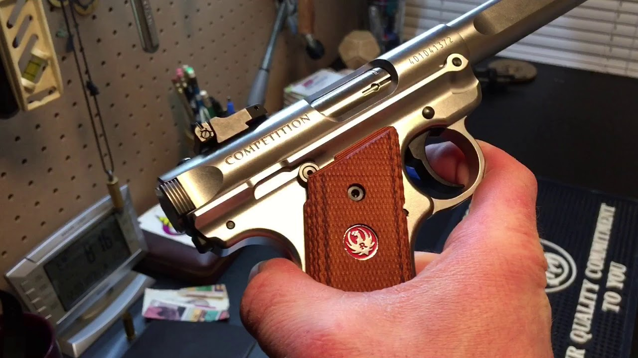 Review of Ruger Mark four competition pistol Bang for your buck