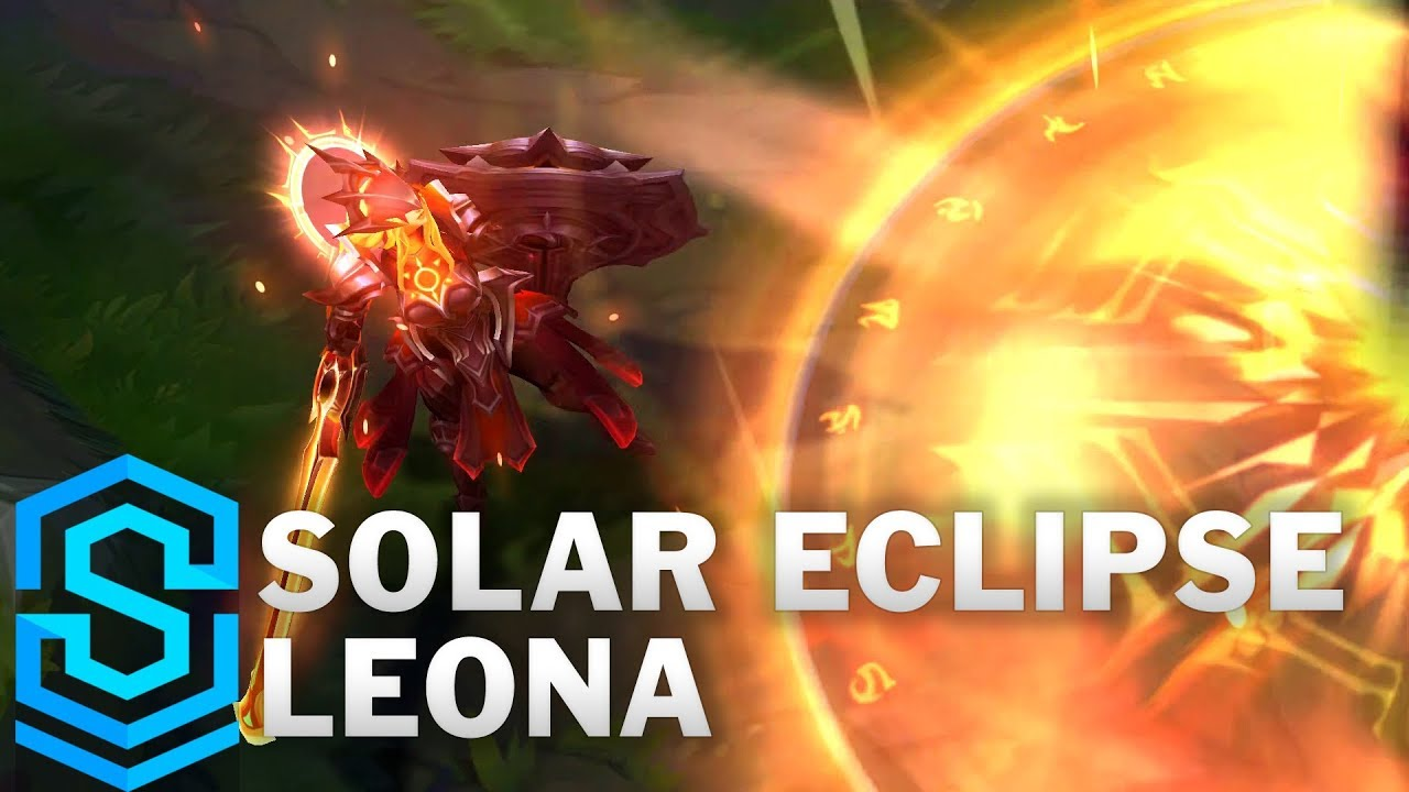 Solar Eclipse Leona Skin Spotlight League Of Legends Youtube