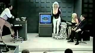 Morton Downey Jr  vs Stripper for God!!
