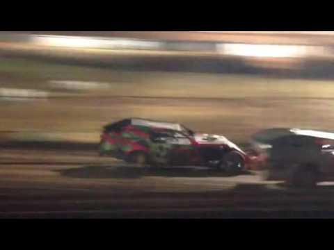 Abilene Speedway Southern Challenge heat 10-15-16