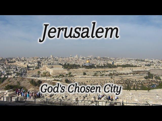 Bible Overview of Old City Jerusalem, Mt of Olives, Western Wall, Via Dolorosa, History of Jerusalem