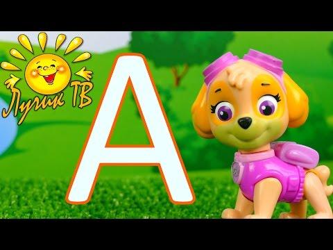 Учим букву А. Буквы русского алфавита для детей. Развивающий мультфильм для детей 0+