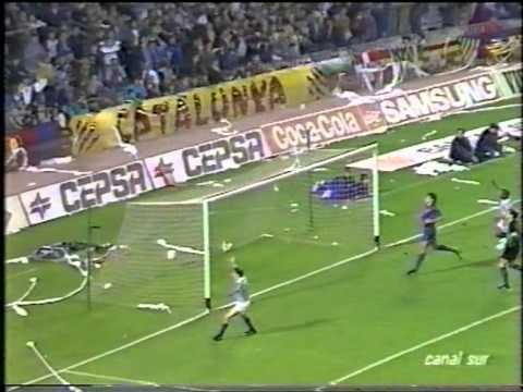 1990-1991 Barcelona 1 - Real Sociedad 3