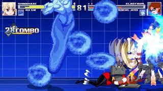 Aqua Slime And Shimikaze VS Elastigirl And Michael Jackson In A MUGEN Match / Battle / Fight