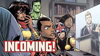 Everything About INCOMING! with Al Ewing!