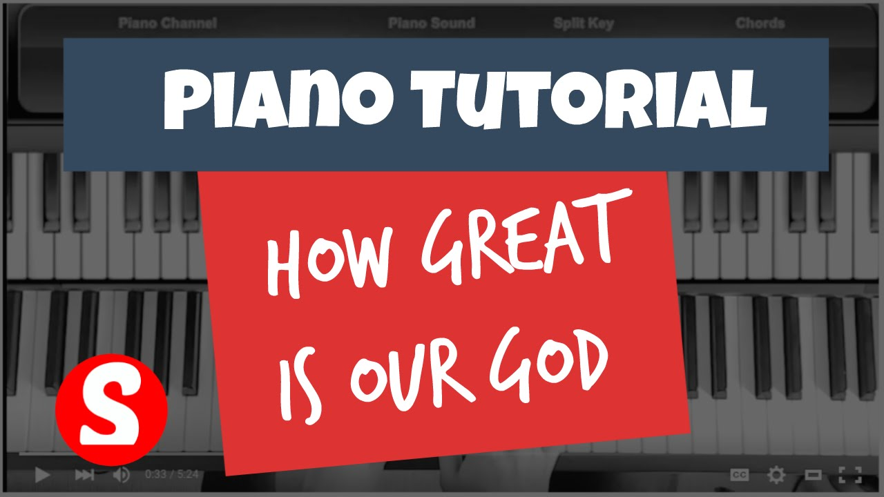 How great is our god easy piano beginner tutorial chris tomlin how great is our god easy piano beginner tutorial chris tomlin youtube baditri Images