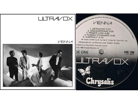 Ultravox - New Europeans (On Screen Lyrics/Slideshow)