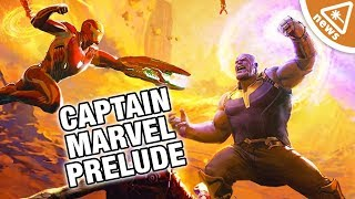 Captain Marvel Prelude Reveals Why the Avengers Lost to Thanos (Nerdist News w/ Dan Casey)
