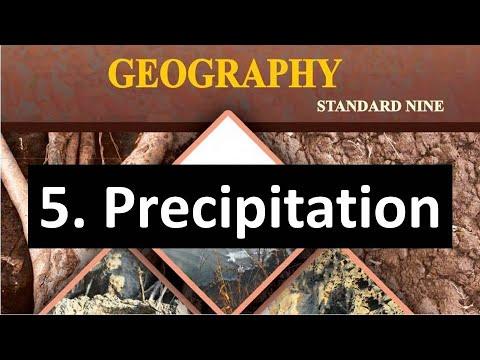 Precipitation - Types of Rainfall (Orographic, Convectional and Cyclonic Rainfall) Snowfall