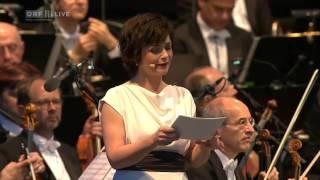 Fest der Freude 2015, Das Konzert, Text von Maja Haderlap