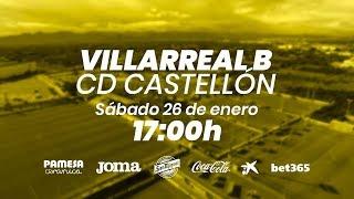 Villarreal B vs CD Castellón