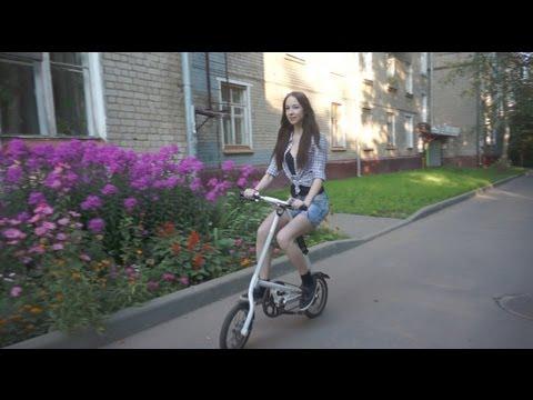 Обзор китайского клона велосипеда Strida | Fake Strida review (subtitles)