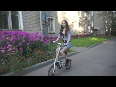 Обзор китайского клона велосипеда Strida | Chineese Strida review (subtitles)