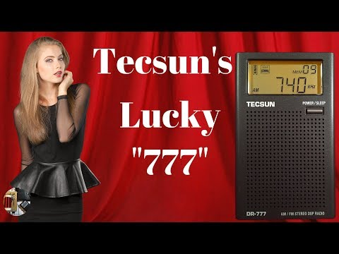 "Lucky ""777"" Tecsun DR-777 AM FM Stereo Radio Review"