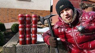 9 WEGE um eine Dr Pepper DOSE zu ZERSTÖREN!