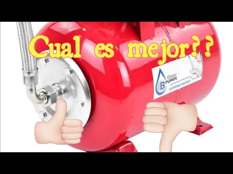 presurizador de agua o hidroneumatico? Ventajas y Diferencias de funcionamiento!!