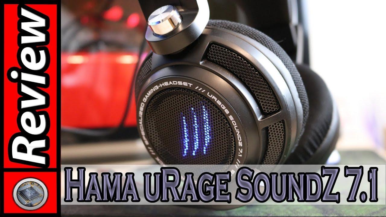 0309a2cb9db Surround Sound für unter 100€ / uRage SoundZ 7.1 [Deutsch / German ...