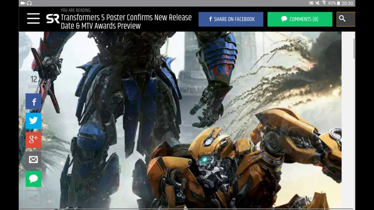 transformers 5 poster bumblebee dies contains spoilers youtube rh youtube com