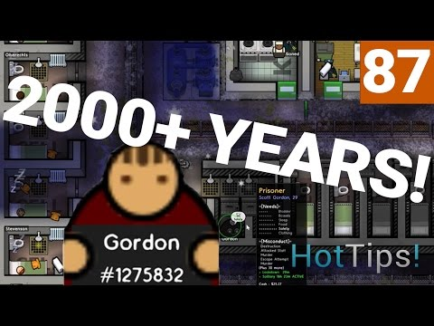 Prison Architect 2.0 - Ep 87 - OVER 2000 YEARS! - Let's Play