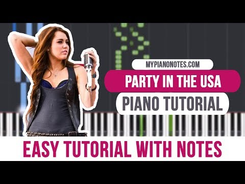 7.5 MB) Party In The Usa Chords - Free Download MP3