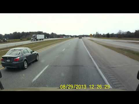 Western Express Truck #1048 Reckless Driver Ohio I-75