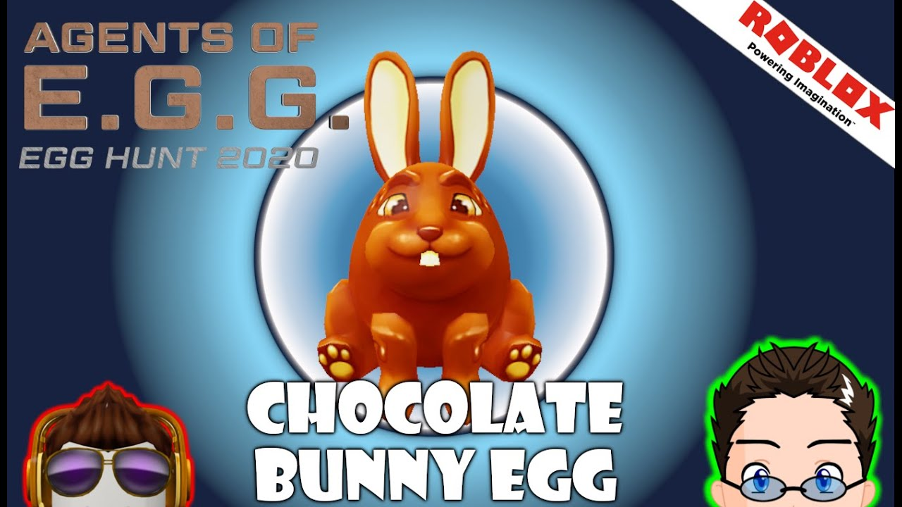 Roblox Easter Egg Hunt 2020 Chocolate Bunny Egg Egg