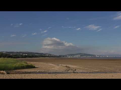 Rising Tide in Swansea Bay - Time-Lapse