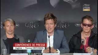 The Hunt Press Conference Mads Mikkelsen Thomas Vinterberg