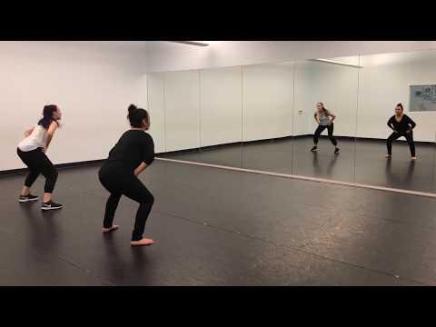 Sonoma State Dance Team Spring 2018 Audition HIP HOP Routine