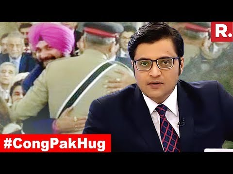 Congress Hug To Pak Army Chief Gets Mortar Shelling Response | The Debate With Arnab Goswami