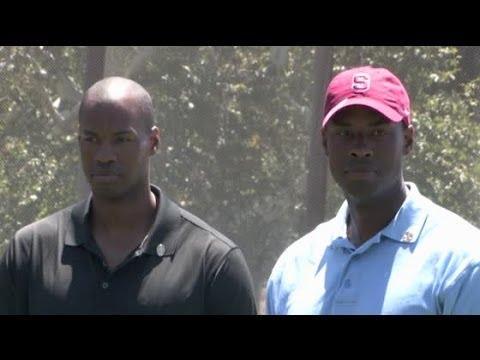 JARRON and JASON COLLINS play golf together