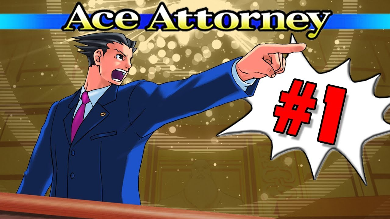 Let's Play Phoenix Wright: Ace Attorney - Part 1