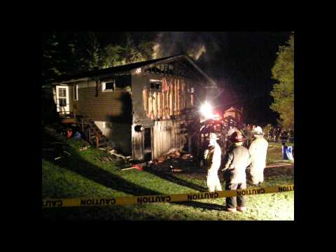 2-Alarm Structure Fire, (Sykesville Borough), 5-11-2011 - Reynoldsville Fire