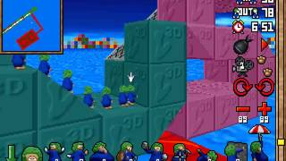 Lemmings 3D - Taxing Level 10