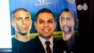 قناة النهار تكرم محمود بكر و المعلم شحاته والجينرال محمود  الجوهرى