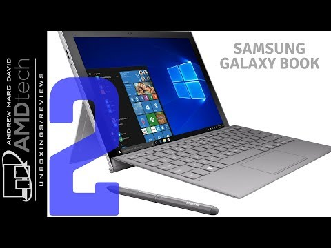 Samsung Galaxy Book 2 Unboxing:  Windows 10 Powered by Snapdragon 850