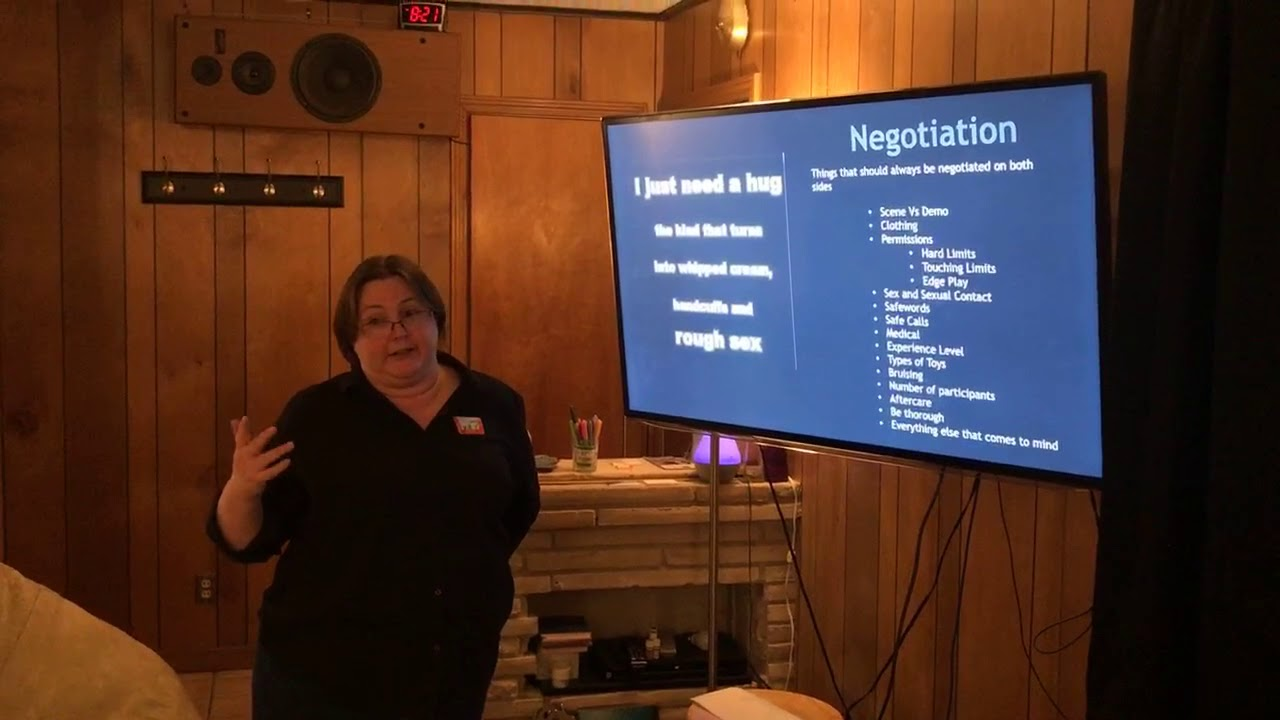 Dory Teaching BDSM Negotiation - Brief Excerpt