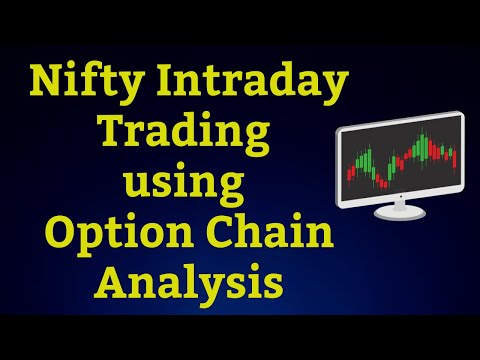 Nifty Intraday using Option Chain Analysis   Open Interest