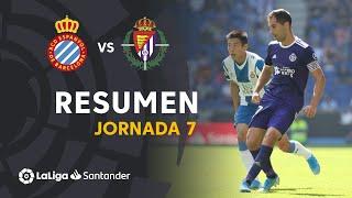 Resumen de RCD Espanyol vs Real Valladolid (0-2)