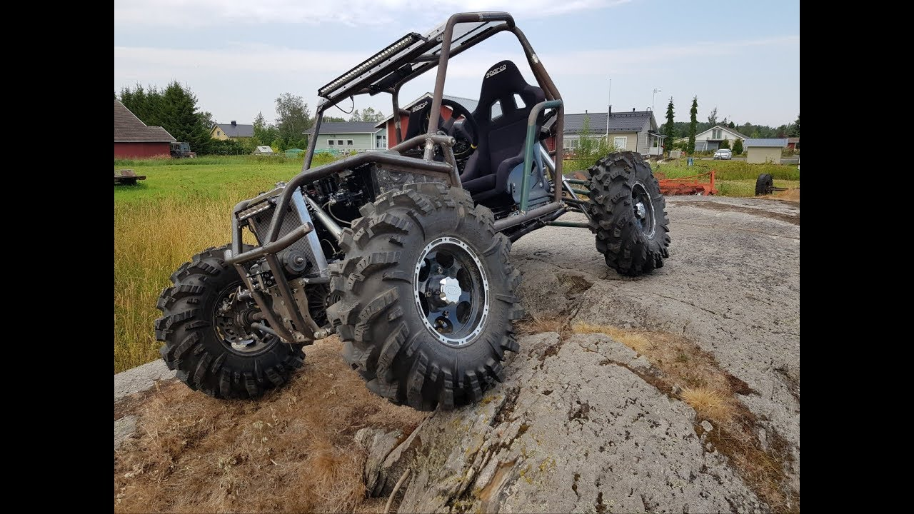 4x4 offroad buggy, 1000cc gsxr motor  Testday from summer