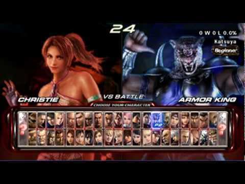 Tekken 6 Psp Matches Ryuichi Vs Katsuya C 2 2 Youtube