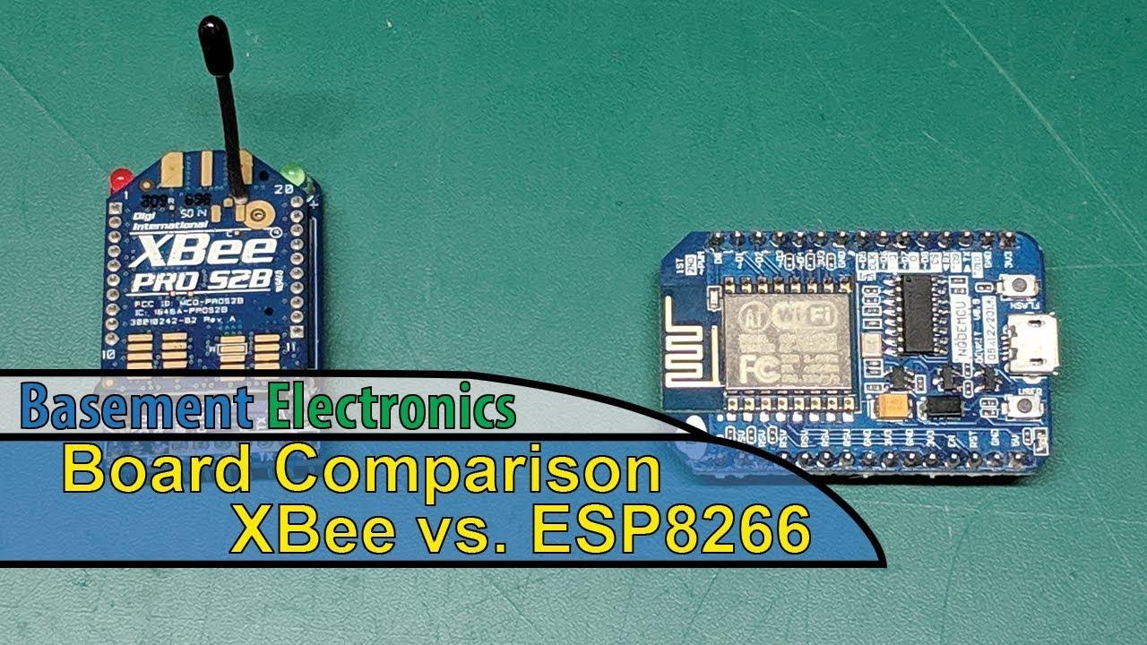 XBee vs  ESP8266 - Comparison and Opinion